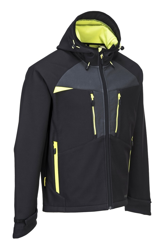 Softshell jakke Sort